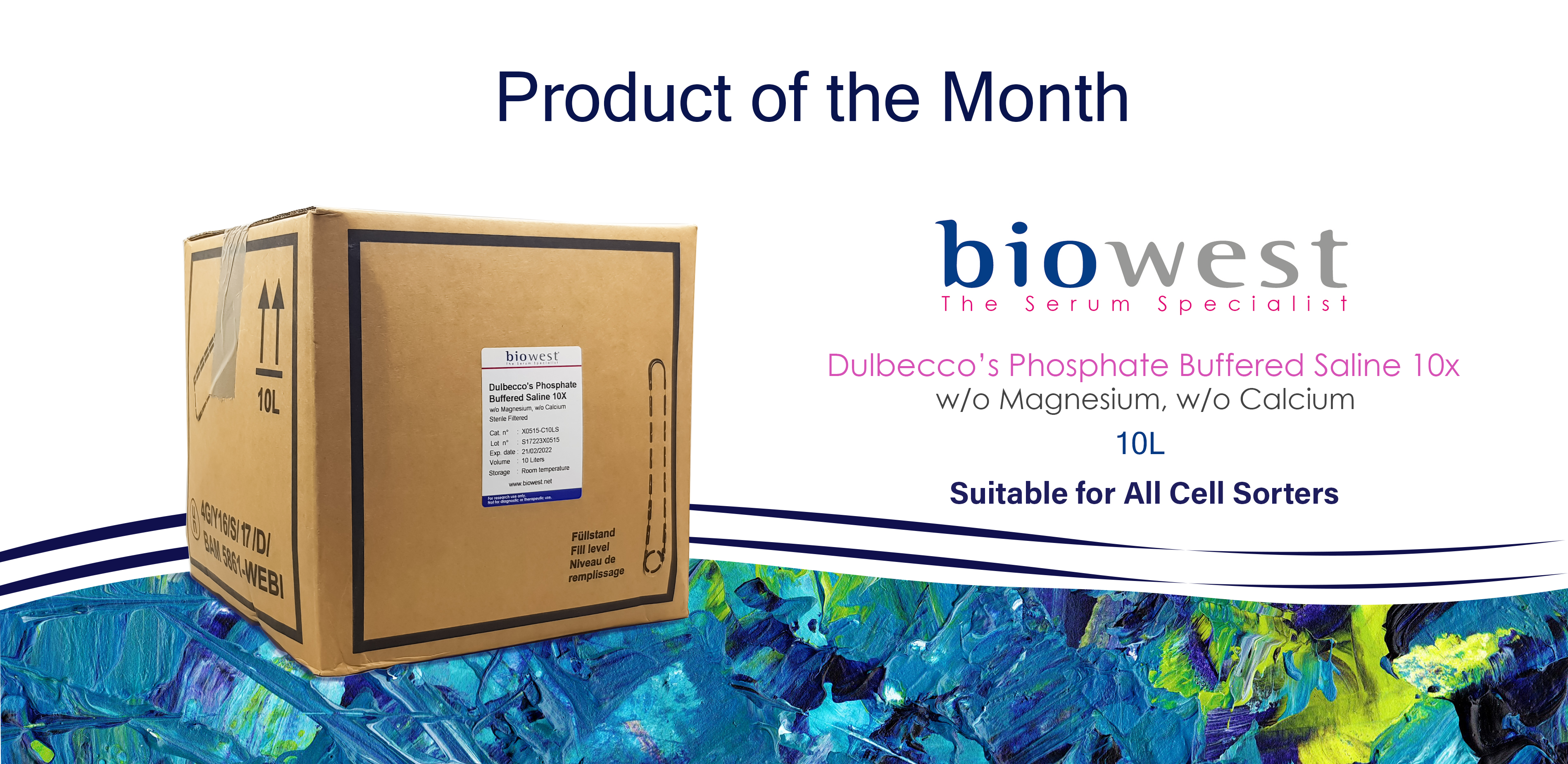 Nov'18-Biowest PBS for cell sorters