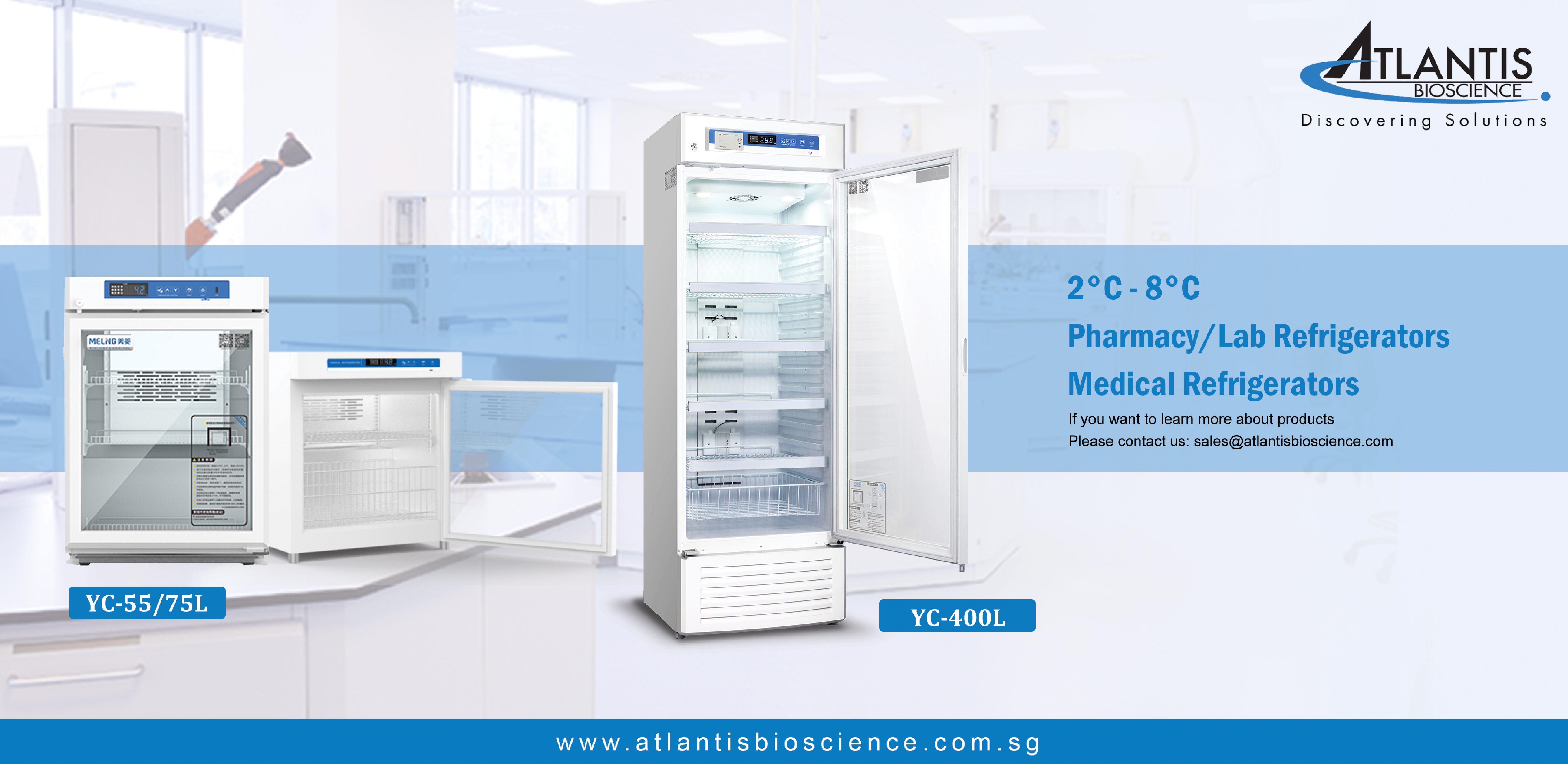 MELING – 2°C ~ 8°C Medical Refrigerators