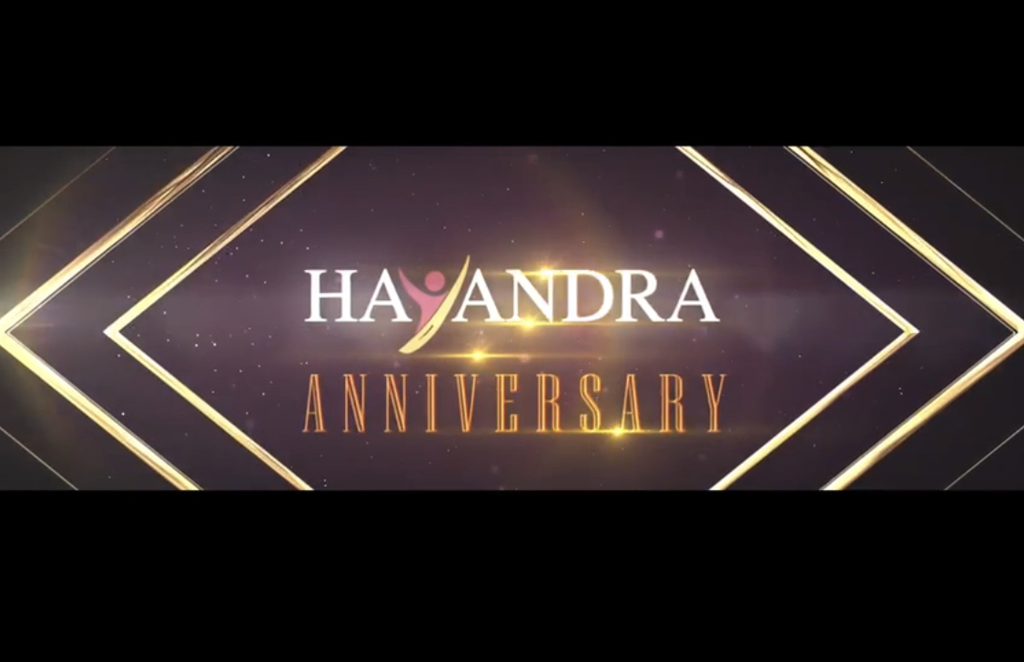 September' 19 – Congratulation to Hayandra 10 years anniversary