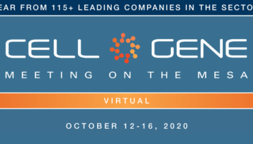Oct-20.   Annual Cell & Gene Meeting on the Mesa to be held virtually October 12-16.