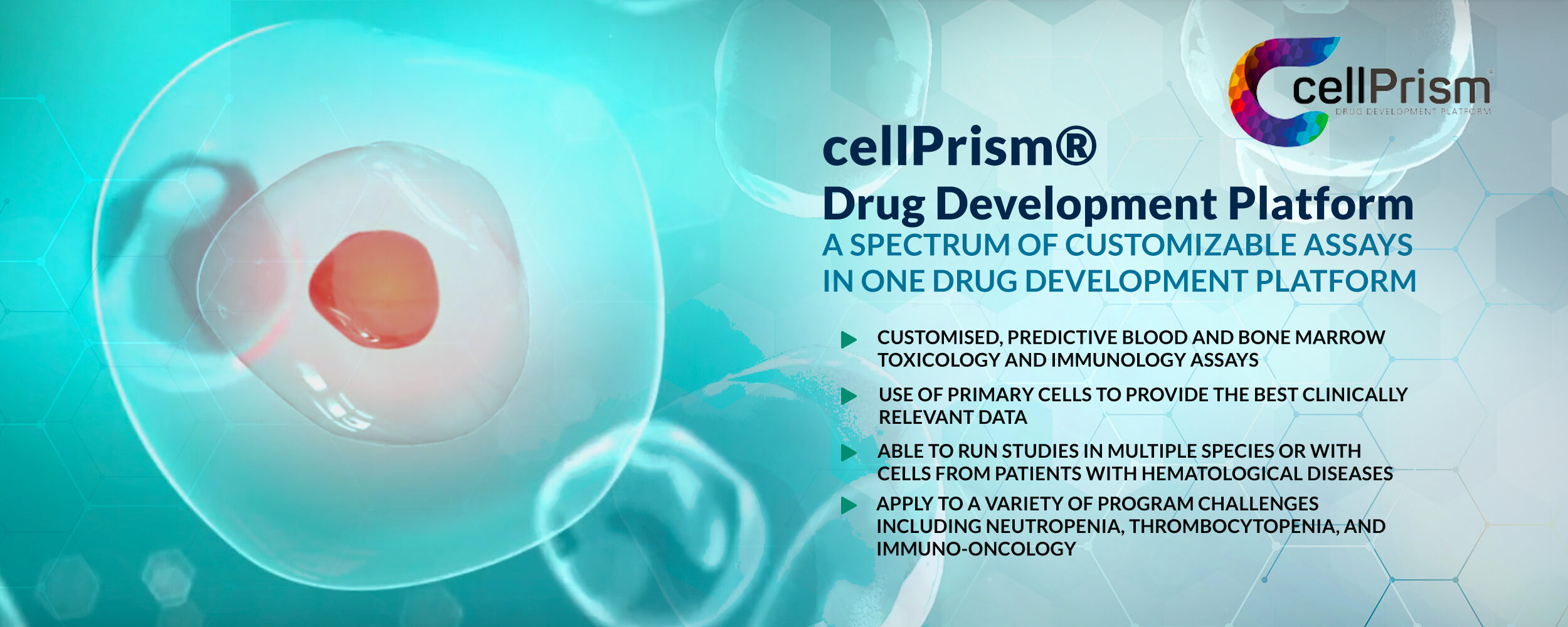 A Spectrum of Customizable Assays in one Drug Development Platform